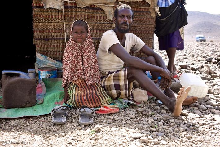 حياة قاسية ولكن آمنة في معية أبيها وعائلتها - قرية عمر جاگعة